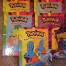 Scholastic Pokemon Books lot of 5