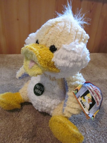 Old MacDonalds Talking Farmyard Friends Dani the Duck Plush