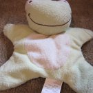 Blankets and Beyond Plush Green Frog Star Security Blanket Lovey
