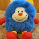 Vintage Mattel Plush Rainbow Bright Blue Sprite Champ from 1983