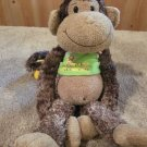 "Cheeky Carmen Plush Monkey 14"" long with a Banana on its tail"