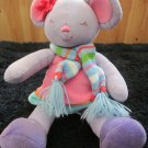 Bath & Body works Plush Purple Mouse named Noelle Doll