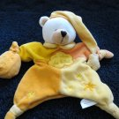 White Bear security Blanket Puppet from Paris France