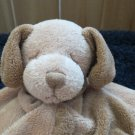 Angel Dear Plush  tan Puppy Dog Brown Spots Lovey Security blanket