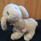 Vintage Precious Moments Plush Lamb Levi with Locket