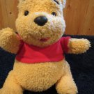 1998 Mattel Singing Plush Pooh Bear