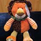 Mary Meyer Motley Zoo Plush Lion orange New With Tags