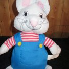 Plush Max Bunny Rabbit from Max and Ruby Cartoon Rosemary Wells 1997