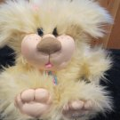 CPK Cabbage Patch Kids Plush Furry Dog complete with leash and tag