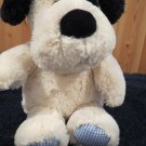 Animal Adventure Plush Black and White Puppy Dog