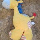 Baby Gund yellow plush Giraffe busybuds happy moments 59128