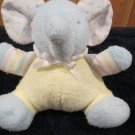 Kids Gifts Plush blue Elephant yellow outfit