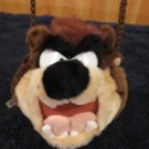 1996 Warner Bros Jaclyn Inc Plush Tazmanian Devil Purse bag