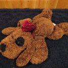 Friendzies Plush Brown Dog from 2002 Target Black eye nose