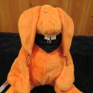 Sigikid Plush Orange Rabbit Germany # 51793