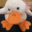 2001 Friendzies Target Plush Pink Duck Quacks