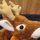 "Camp Creek Co 20"" Door Hanger Plush Reindeer with Pouch Brown Deer"