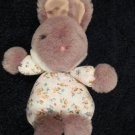 Ty O Rama Plush Bunny Rabbit flowered outfit