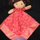 New Garanimals Pink Doll Teether Cuddler Security Blanket