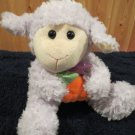 Lavender Lamb holding Carrot by Animal Adventure
