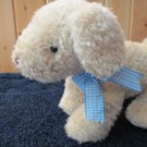 Just One Year Carters Cream Puppy Dog with  Rattle inside