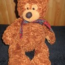 "First & Main #1675 Brown Bear named ""Baxter"" Plush Floppy style"