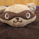 Gymboree Brown Security Blanket with Raccoon