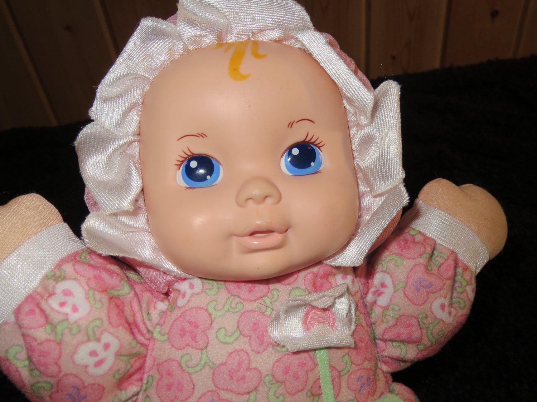 1999 Playskool 12 Quot My Very Soft Baby 5034 Pllush Pink Doll