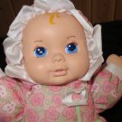 "1999 Playskool 12"" My Very Soft Baby # 5034 Pllush Pink Doll"