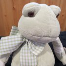 Bearington Baby Collection Little Stitches Plush Frog NWT