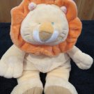 Baby Ganz Squish Ums Plush Lion Orange Crinkle Mane