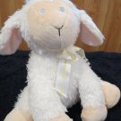 Ganz White Plush Musical Lamb named Lily Jesus Loves Me