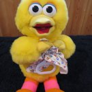 Vintage 1994 Applause Plush Big Bird Musical Crib Pull Toy #32273