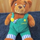 Vintage 1997 Plush Bear by Eden I've lost my Button