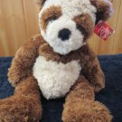 Russ Berrie Brown Cream Teddy Bear named Kimiko #4336