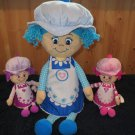 Three Little Miss Muffin Dolls Plush Toys