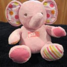 Carters Pink Plush Elephant Musical Twinkle Little Star