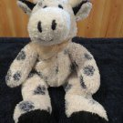 Kellytoy Plush Black White Cow
