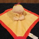 Animal Adventure Yellow Doll Security Blanket teether