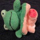 Big Idea Group Plush Flip Flop Frog Pig 2 in 1