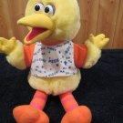 Vintage 1996 Tyco Plush Playtime Big Bird Talking Peek a boo Sesame Street