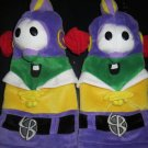 C R Gibbson Big Idea Veggie Tales Larry Boy Two plush hand puppet