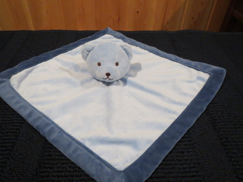 Tiddliwinks Blue Bear Security Blanket Lovey