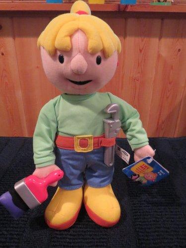 New Playskool Hasbro Bob the Builders friend Wendy Plush Talking Doll