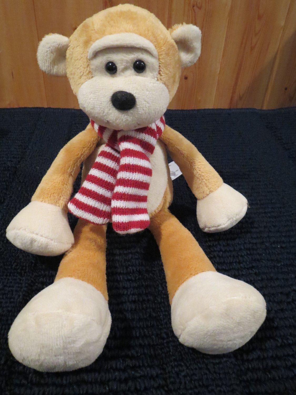 "Animal Adventure 2002 Plush Monkey Floppy 12"""