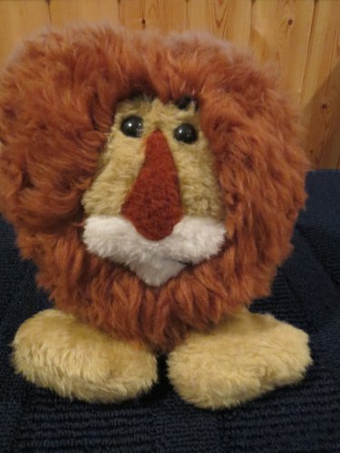 Vintage Animal Fair Lion 5042 Heart shaped face Plush toy