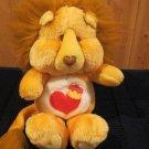Vintage 1984 Brave Heart Plush Lion Care Bears Cousins 61940