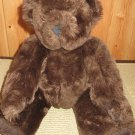 "Vermont Teddy Bear Company 15"" Brown fully jointed Teddy Bear"