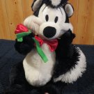 Hallmark PEPE Le PEW  talking skunk plush