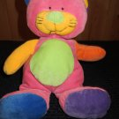 Ty Pluffies Kitty Cat Colorful 2005 Love to Baby